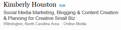 Linkedin Headline copy