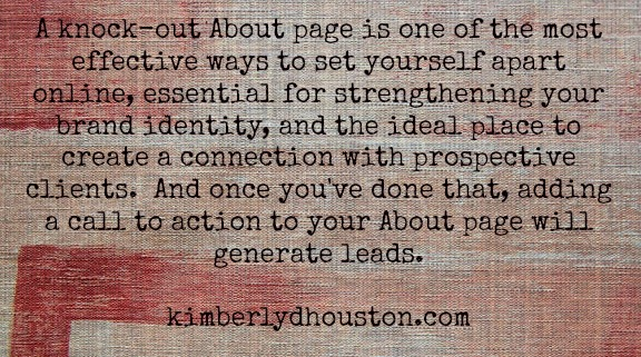 Write a Client-Attracting About Page