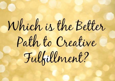 creative fulfillment
