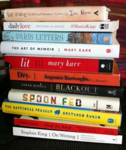 Reading Memoirs to Save My Sanity